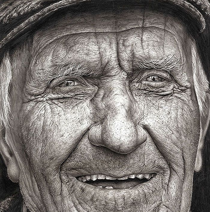 YearOld Girl Wins National Art Competition With Stunning Hyper - Artist uses pencils to create striking hyper realistic portraits