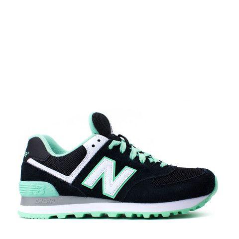 new balance classic 1500 mint & black trainers nz