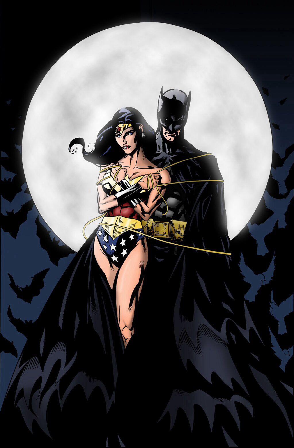 Batman Wonder Woman  Everything Super  Batman Wonder -5623