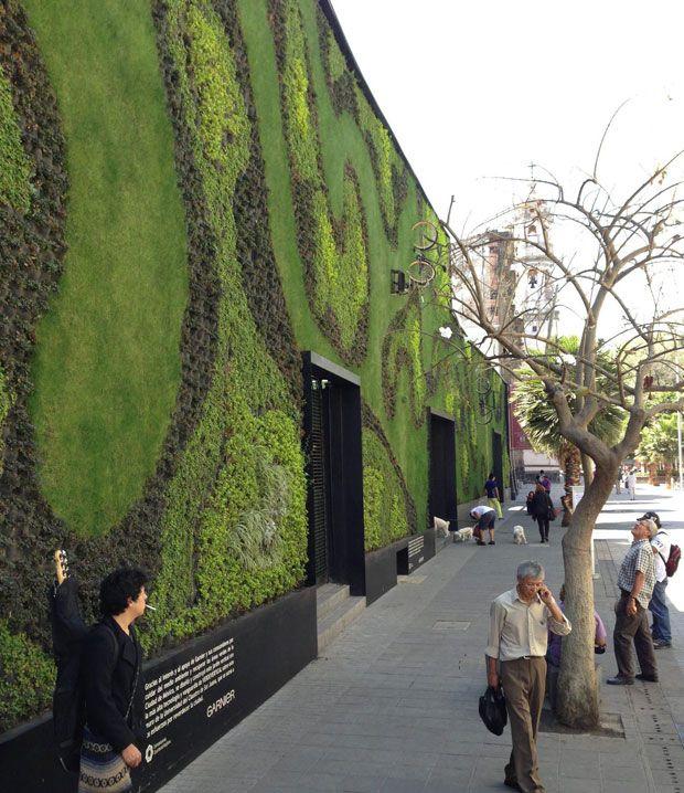 Fernando ortiz monasterio el jardinero de m xico df en for Muros verdes en mexico