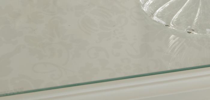 Palladian Soft White Range Bedroom Glass Tops   New Sparkly Bedroom ...