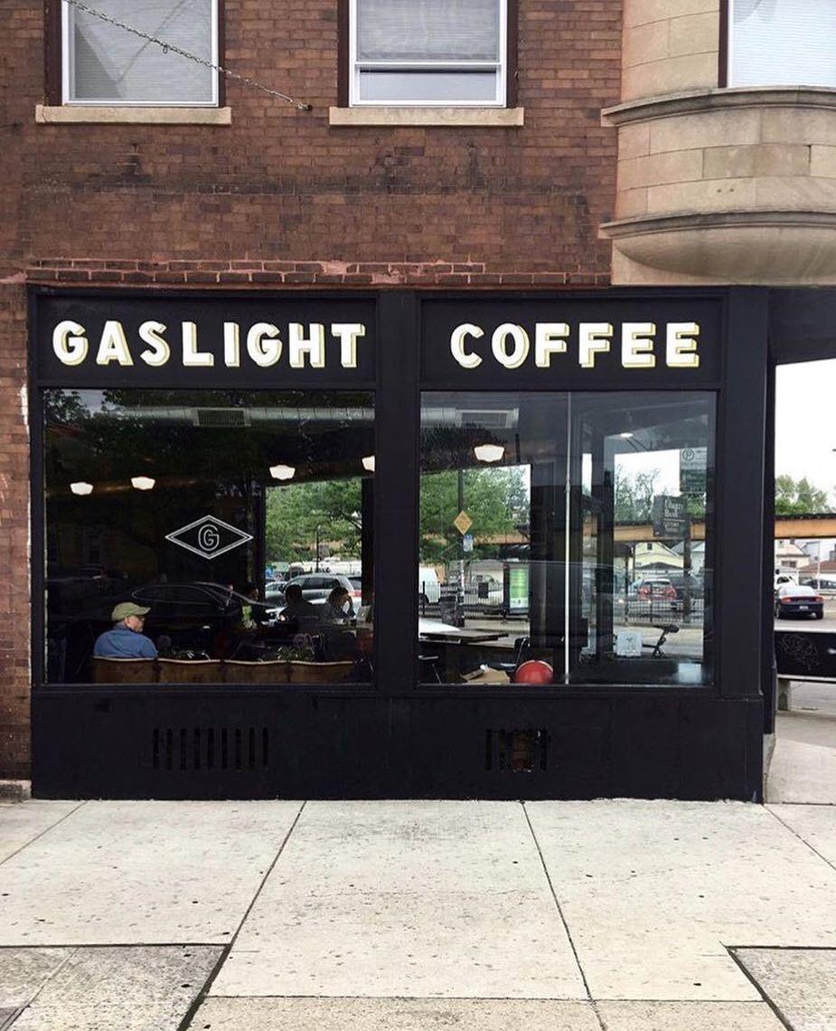 Gaslight coffee roasters pinned by carltoninnmidway