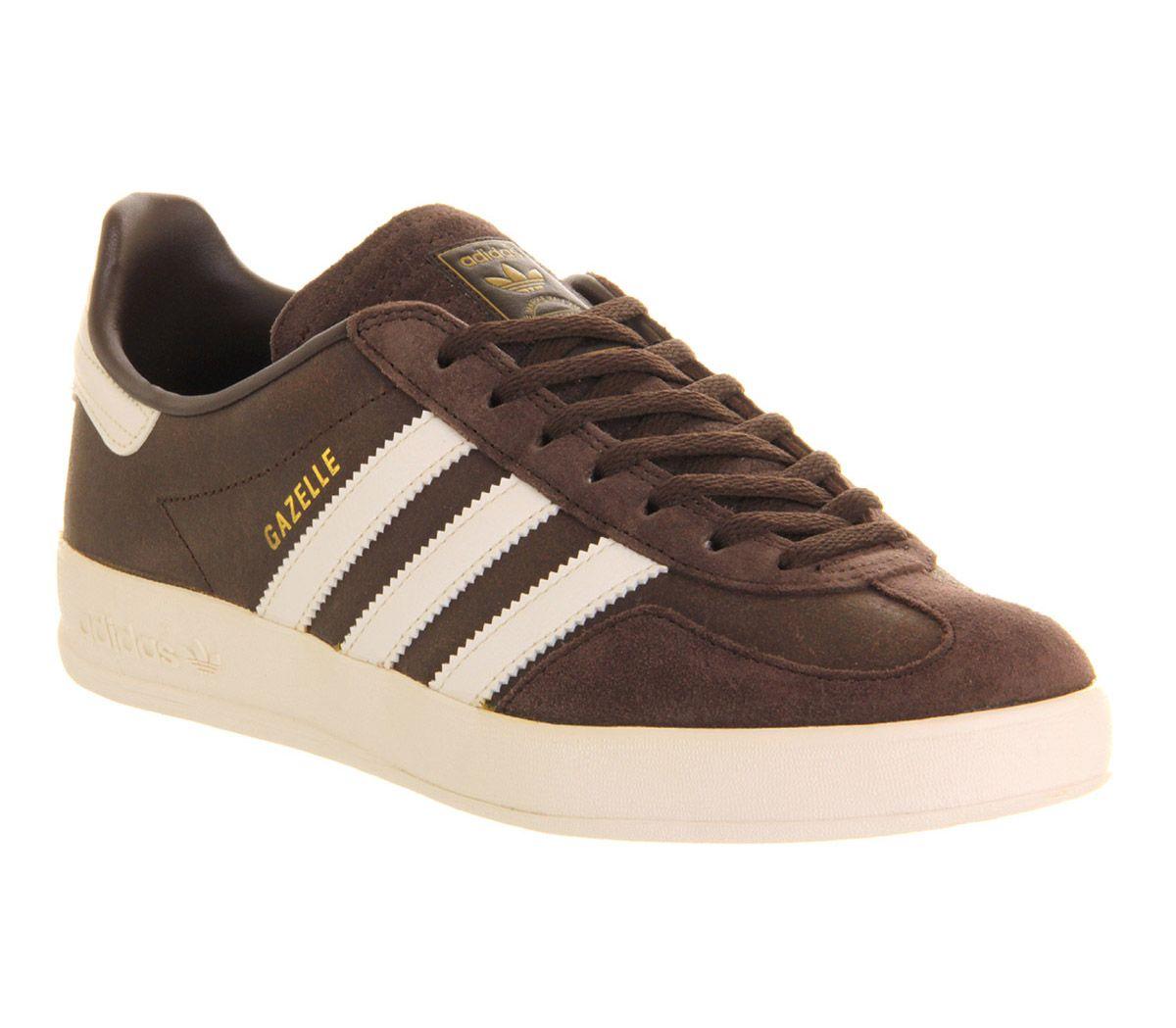adidas gazelle dark brown bone