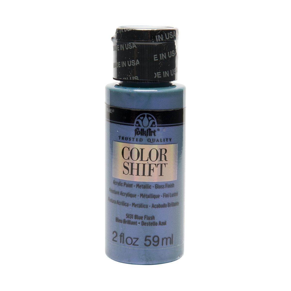 2oz Folkart Color Shift Black Flash, Gray | Products