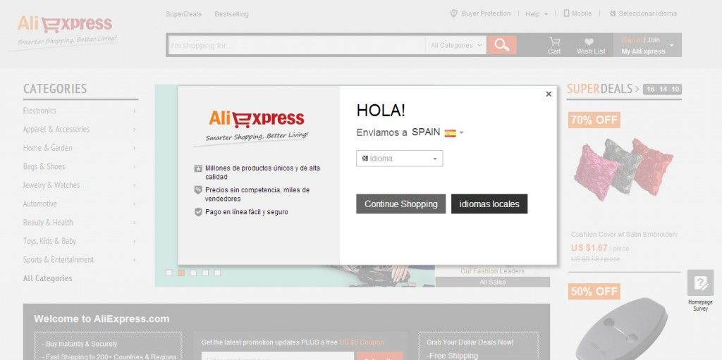 Aliexpress, el mayor bazar chino en tu pantalla - Txemarketing.com