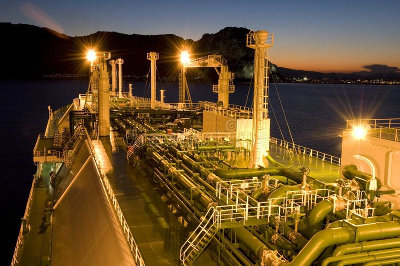 Oil And Gas Industry Lng Tanker Lng Carrier Ship Designed For
