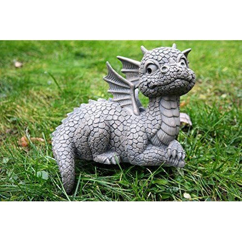 Ars bavaria permet long nez dragon figurine pour for Figurine decoration jardin