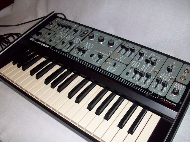 MATRIXSYNTH: Roland System 100 Model 101 Vintage Analog Synthes...