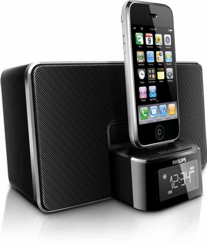 Amazon Com Philips Dc220 37 30 Pin Ipod Iphone Alarm Clock Speaker Dock Mp3 Players Accessories Alarm Clock Iphone Ipod Iphone