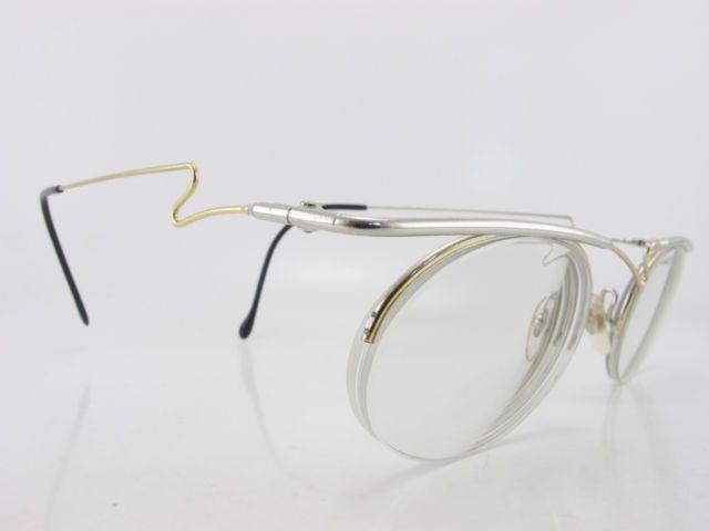 vintage 80s eyeglasses frames asymmetric wire frame supra lens handmade oooo ebay - Ebay Eyeglasses Frames
