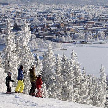 östersund, sweden (our winter vacation destination)