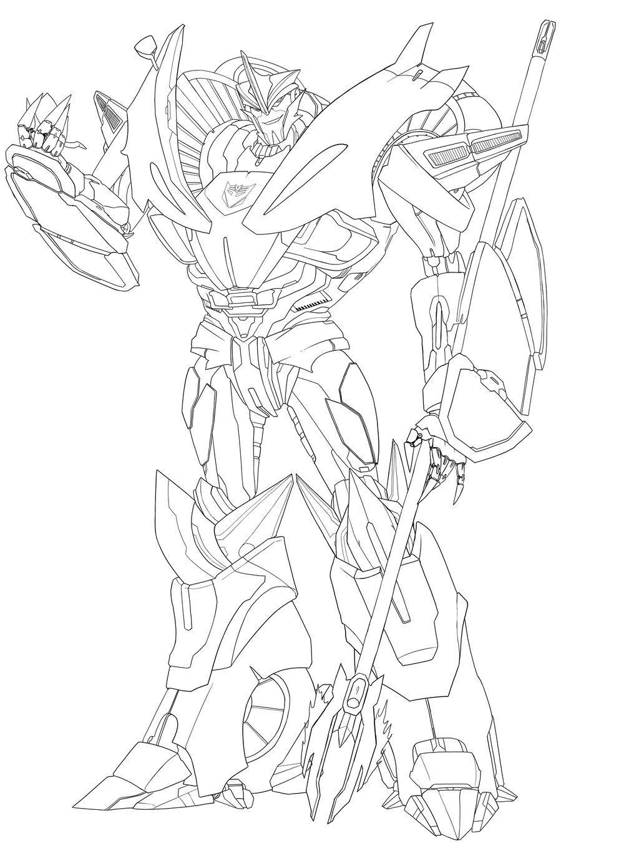 Excepcional Transformadores Prime Coloring Pages Knockout Patrón ...