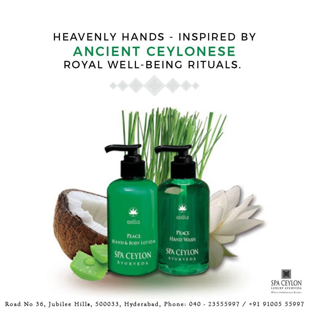 Spa Ceylon S Ayurveda Hand Care Formulae Treat Soften And Protect
