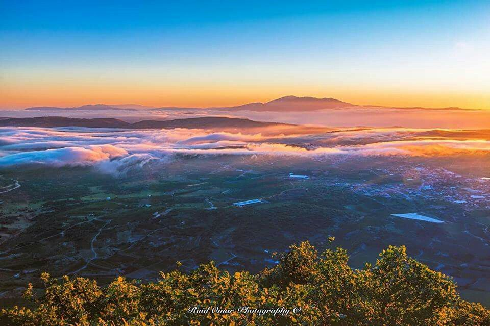من أعلى جبل الجرمق فلسطين المحتلة تصوير رائد عمر Natural Landmarks Landmarks Nature
