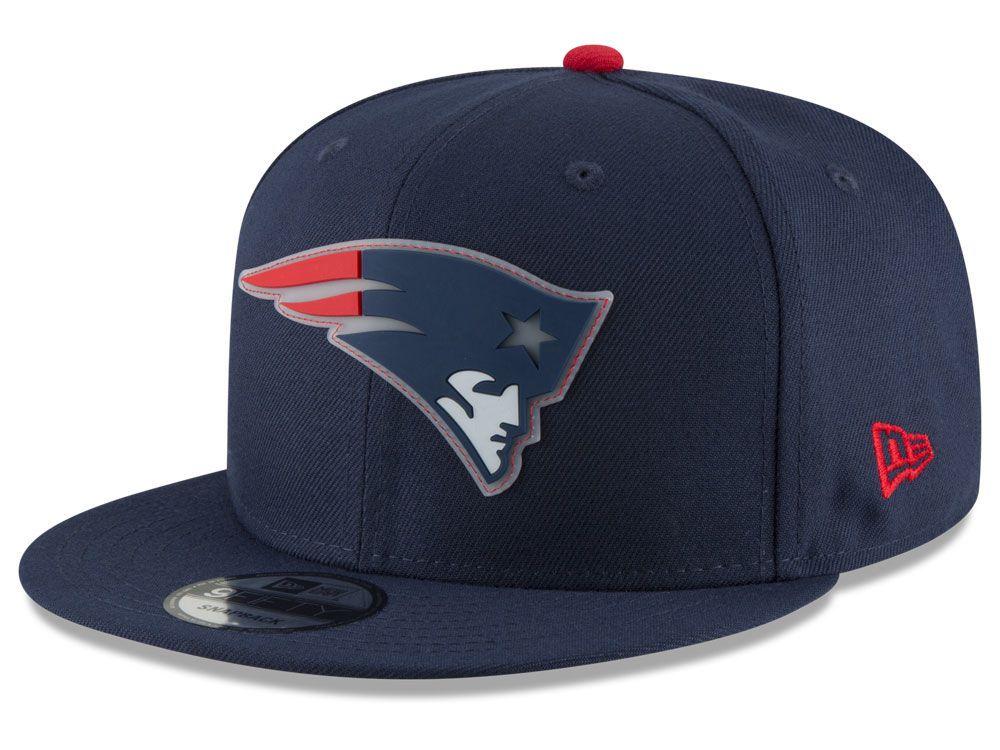 New England Patriots New Era NFL Team Clear 9FIFTY Snapback Cap ... e8669ec3c4ef