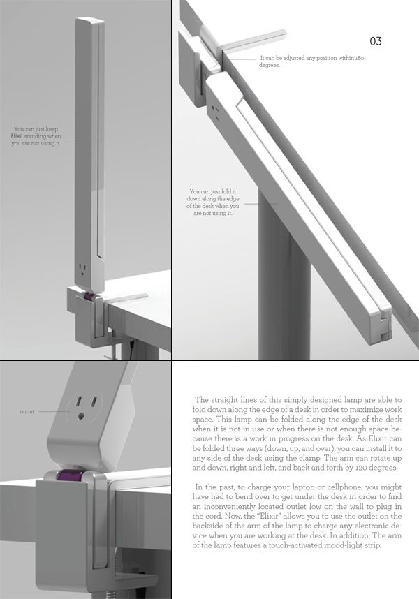 Elixir Folding Desk Lamp Lamp Desk Lamp Lamp Design