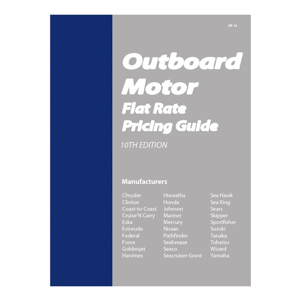 Clymer Outboard Motor Flat Rate Manual Boat Parts For Less Outboard Motors Outboard Clymer