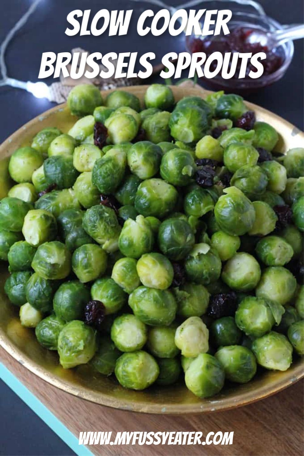 How to cook brussels sprouts in the slow cooker recipe