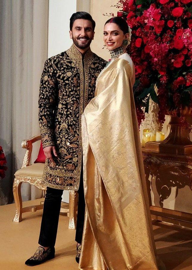 Ranveer Singh & Deepika Padukone Reception Photoshoot at ...