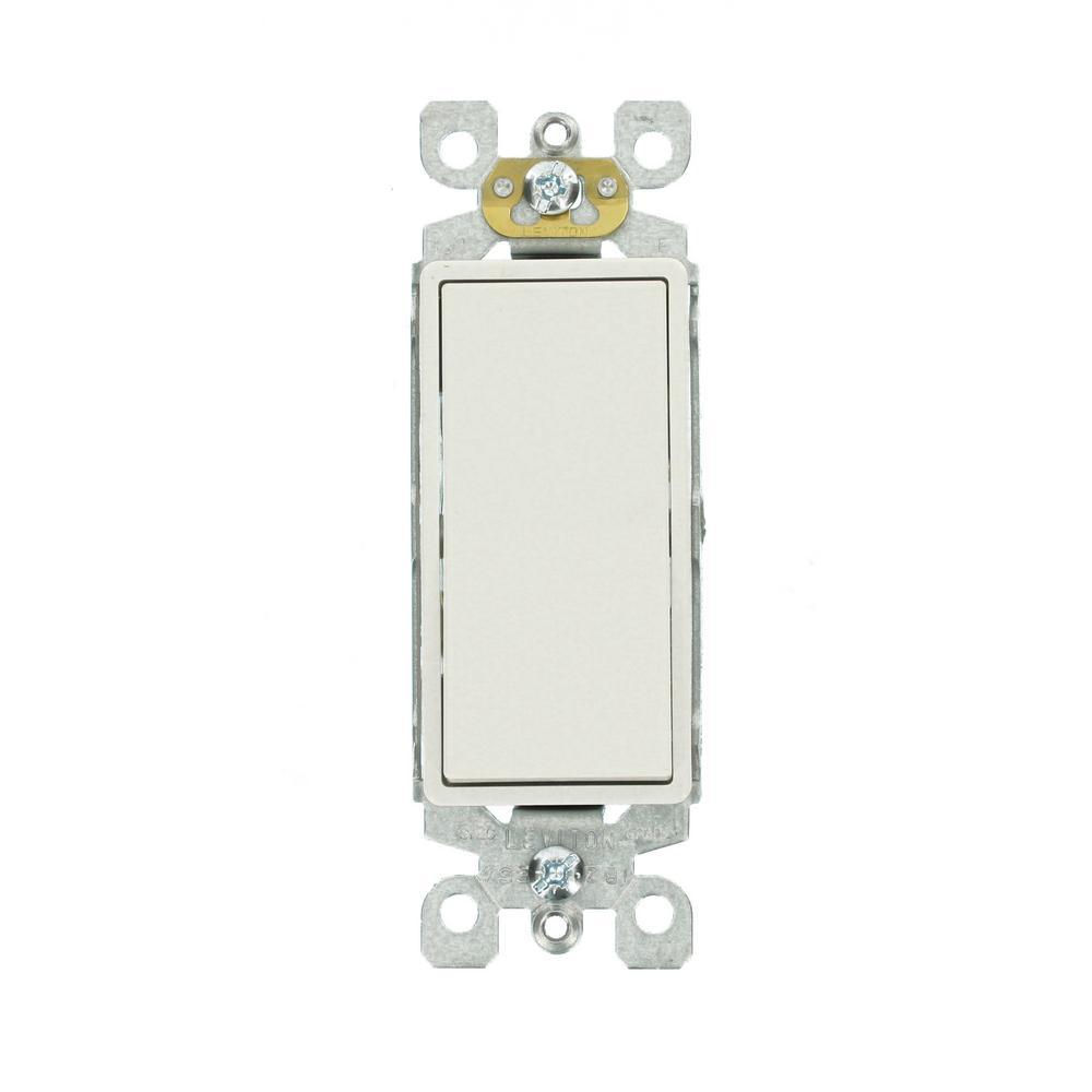 Leviton Decora 15 Amp 3 Way Switch White R62 05603 2ws Leviton Decora Home Depot