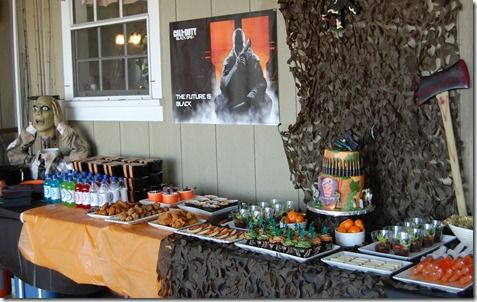 Call of duty black ops 2 zombie party for the husband pinterest call of duty black ops 2 zombie party filmwisefo