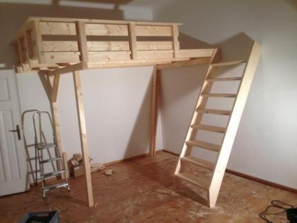 hochbett bauen hochetage leiter treppe hochebene nach ma kleinanzeigen. Black Bedroom Furniture Sets. Home Design Ideas