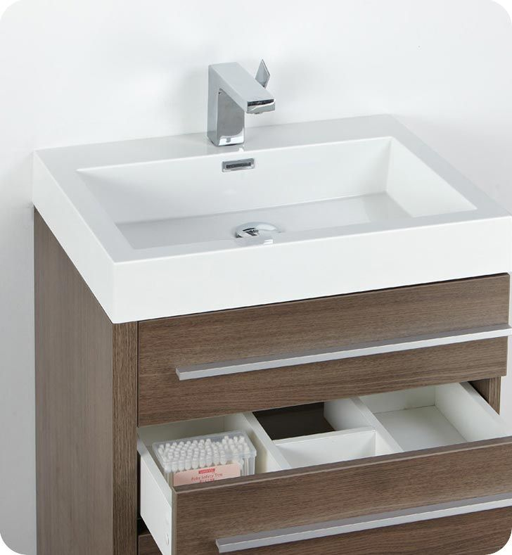 Gentil 18 Deep Bathroom Vanity