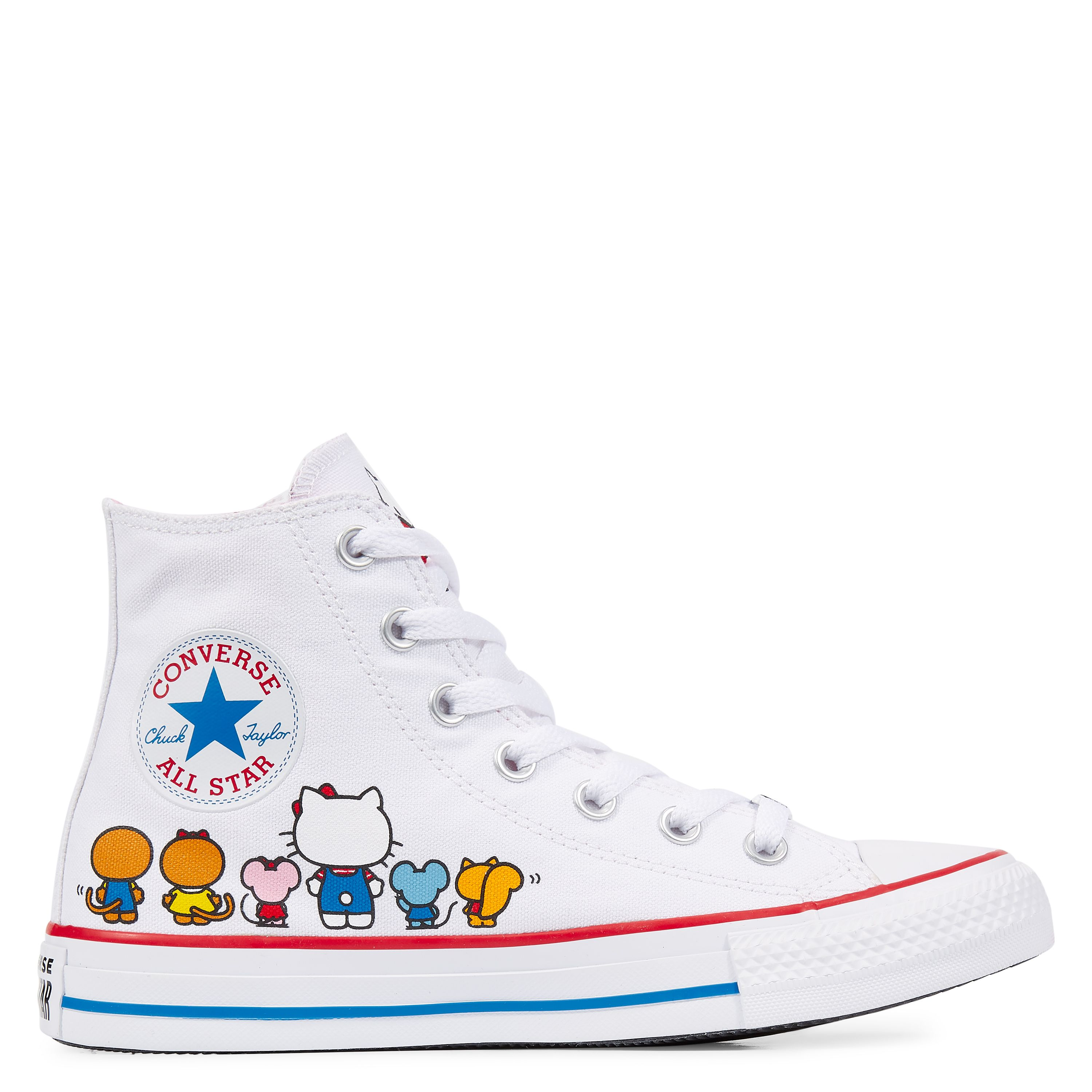 save off ec2a3 63d7c Converse x Hello Kitty Chuck Taylor All Star White Prism Pink White  white prism pink white