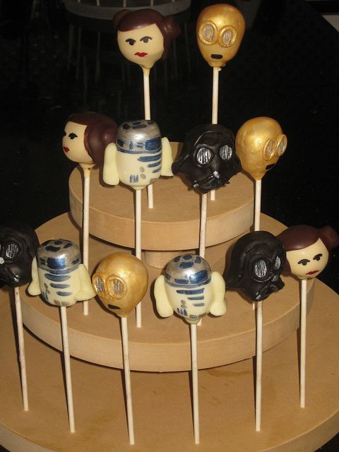 Star Wars by Cake Pop Creations, via Flickr