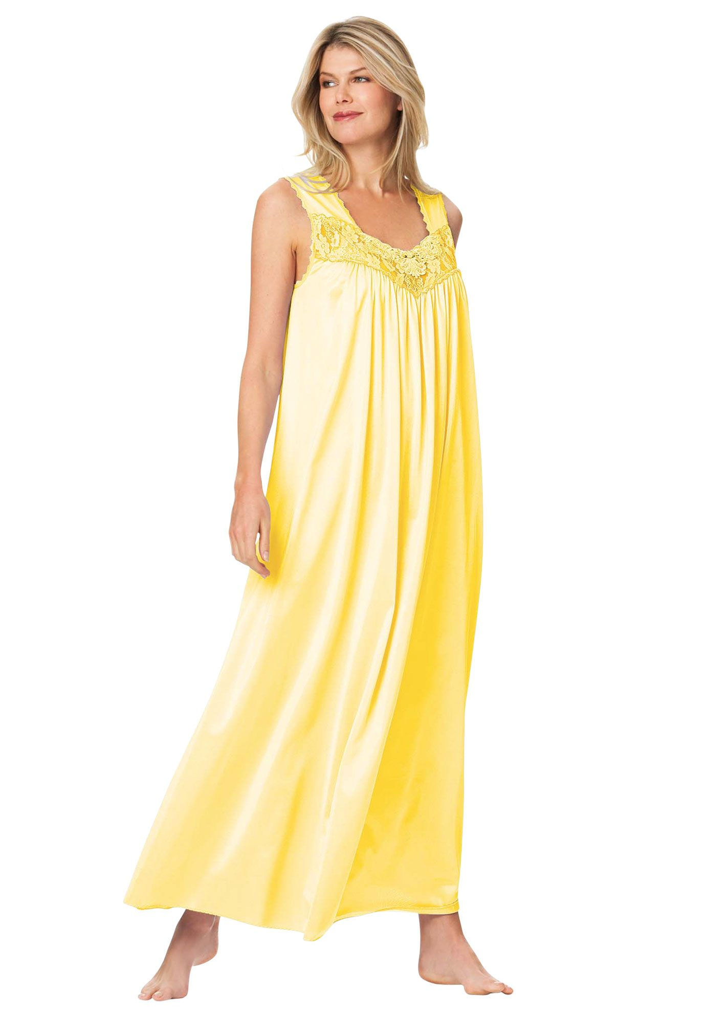 Sleep Gown By Only Necessities Nightgowns For Women Night Gown Knit Gown