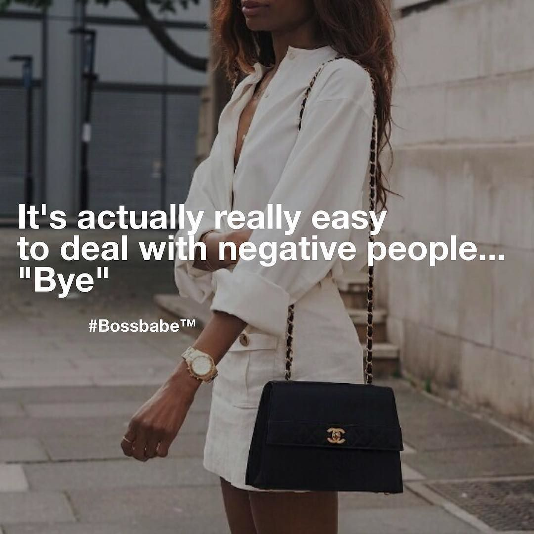 Stop Wasting Your Time With Negativity Come Join The Fastest Growing Network Of Ambitious Millennial Women Bos Boss Babe Quotes Woman Quotes Boss Lady Quotes