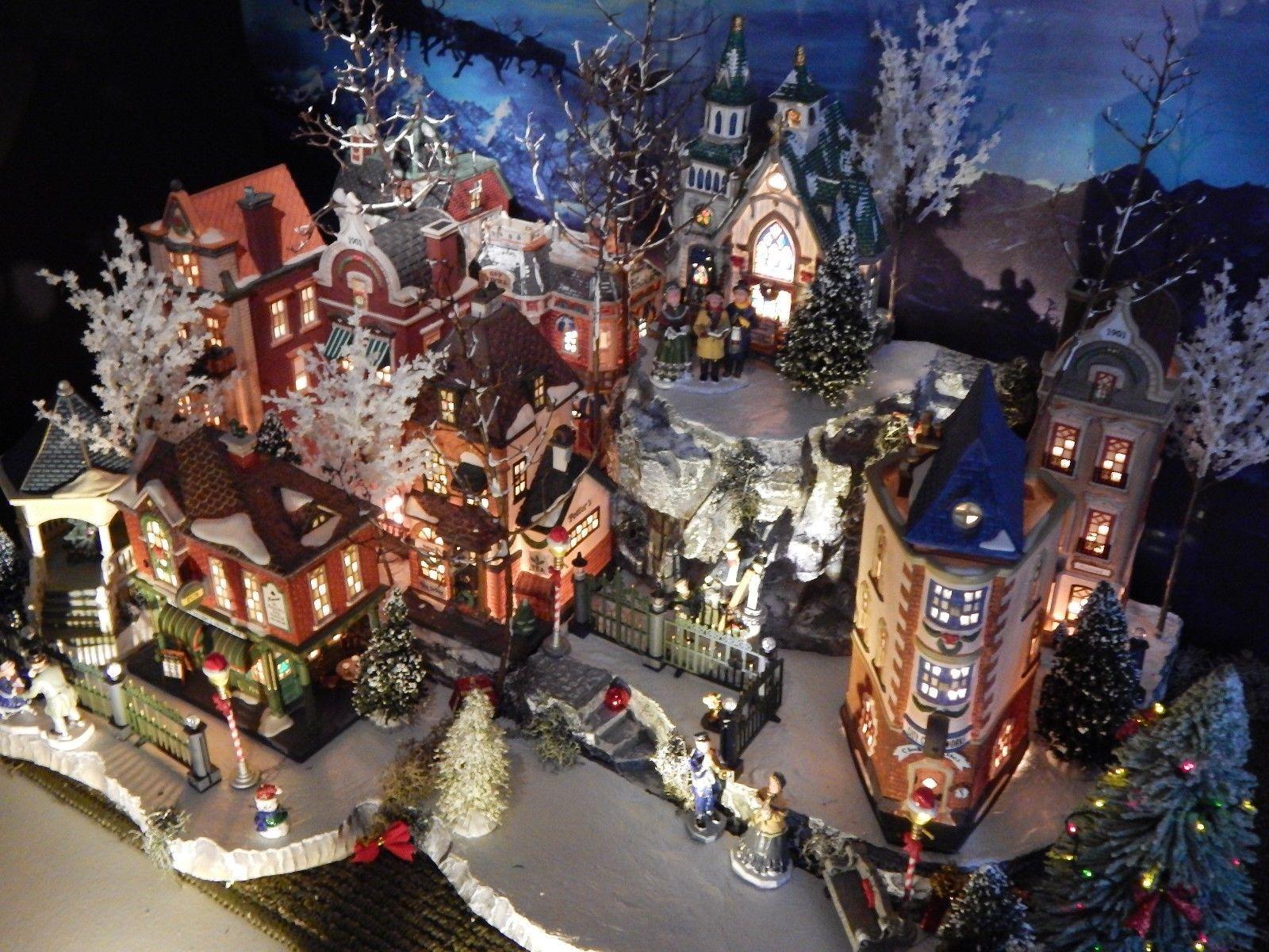 Christmas Village Platforms For Sale.X Deep Multi Level 64 Christmas Village Display Platform