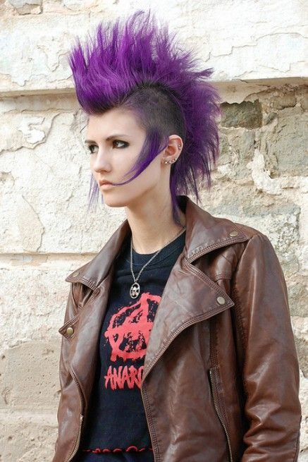 Punk Hairstyles For Women Stylish Punk Hair Photos All Things