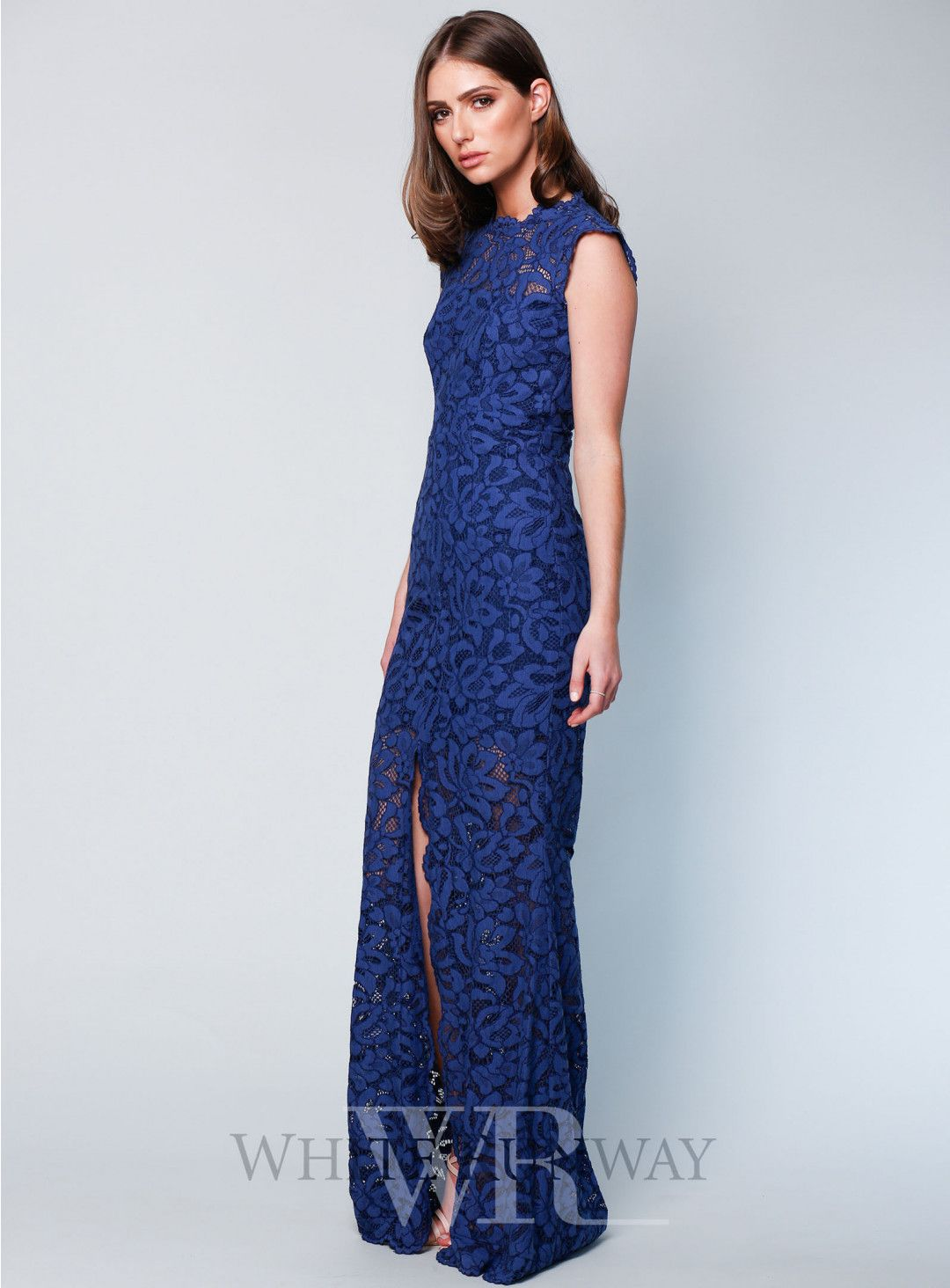 Navy Valentine Gown. A stunning full length dress by Grace & Hart. A ...