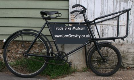 Museum Of Tradesman S Delivery Bikes Bike Cargo Bike Bicycle