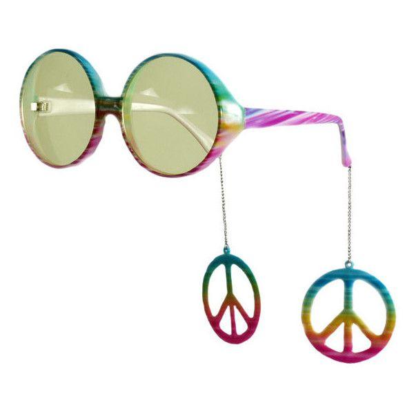 Hippie Costume Sunglasses - Hippie Costume Accessories found on Polyvore e012dac9130f