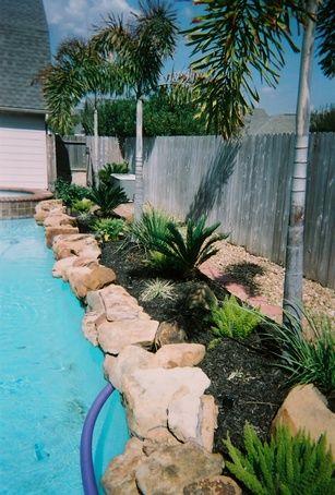 i wish! love the landscape around pool. | pool | pinterest