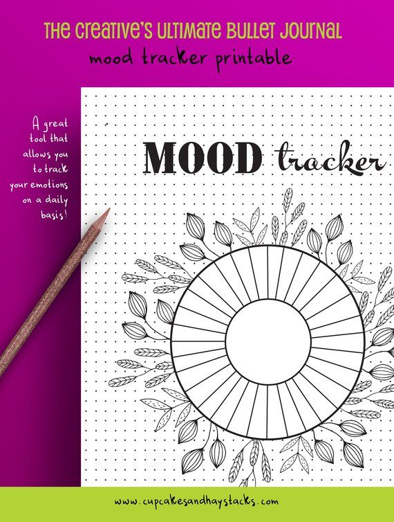 The Creative's Ultimate Bullet Journal, Monthly Tracker Bundle