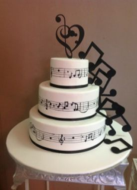 Musical Decorations For Cake Google Search