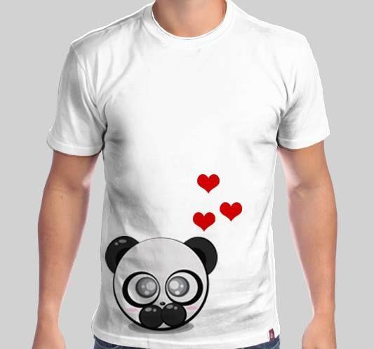 955168dc3 Camisa Moon - Garanta a sua na The Shirt Camiseteria  Camisa  Panda  TShirt