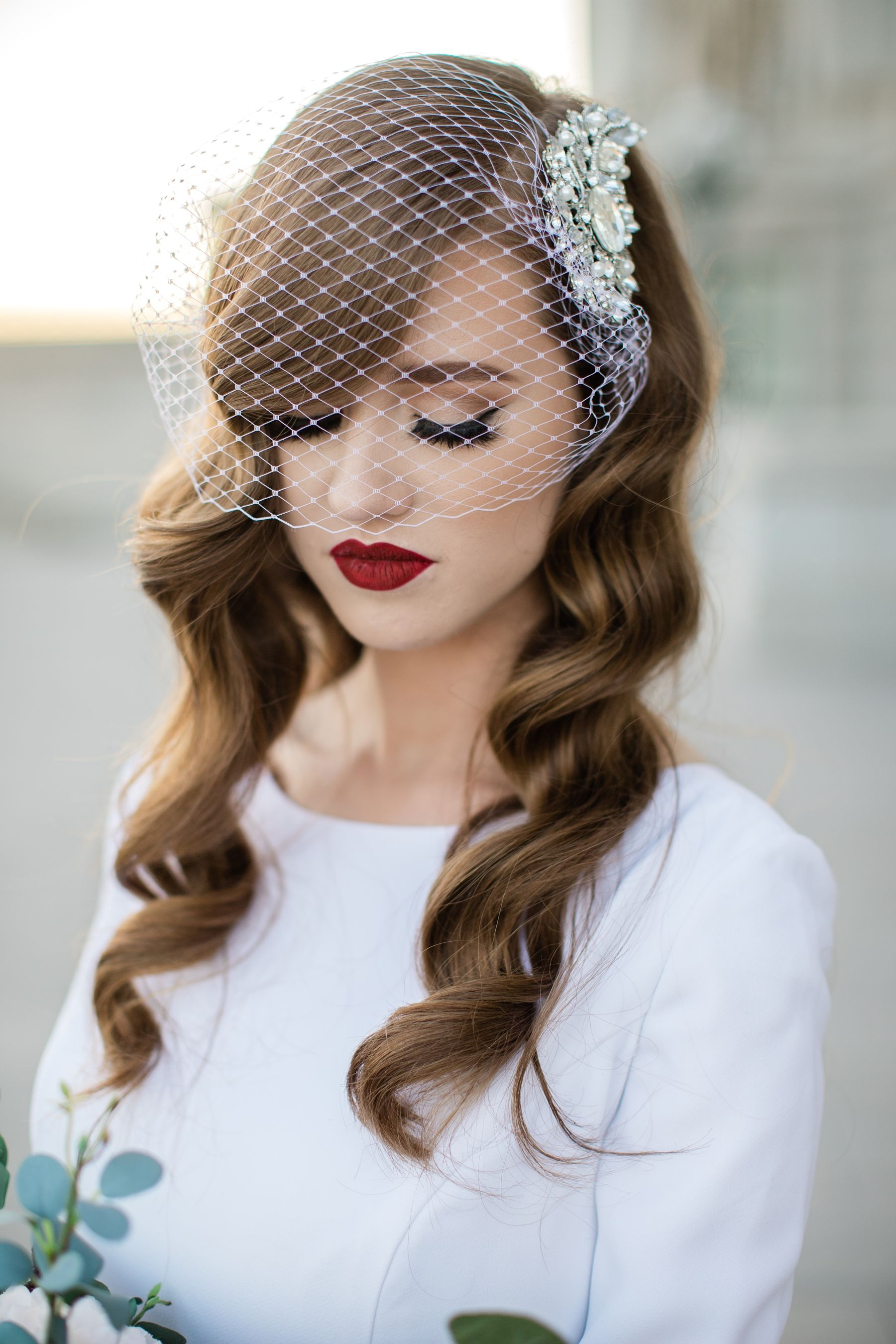 Utah State Capitols Bridal Session -   13 wedding Veils birdcage ideas