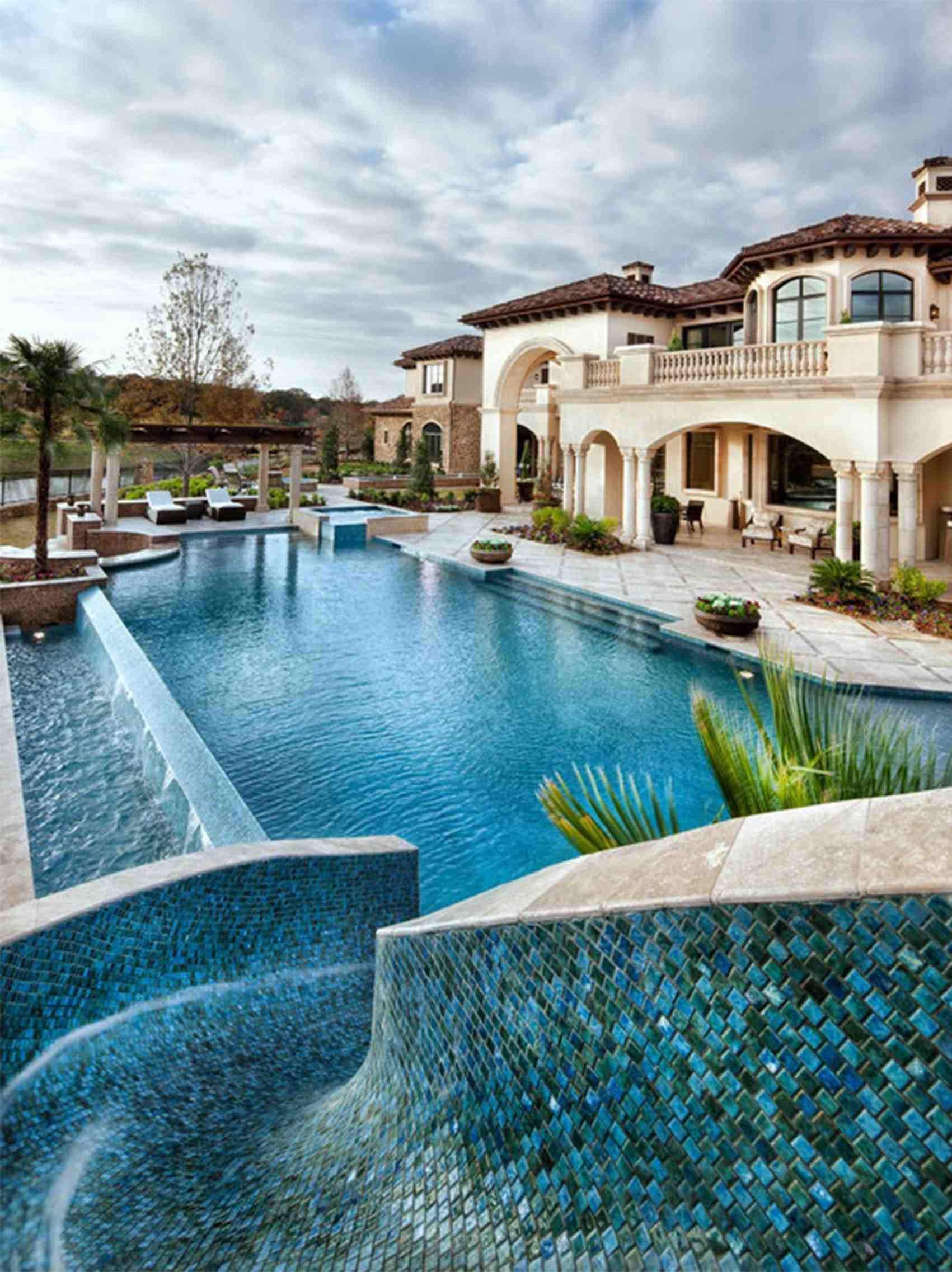 Resultado de imagen para piscinas de lujo en casas tigre - Piscinas de ensueno ...