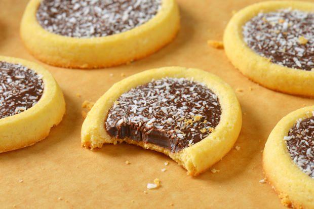Rezept: Cremige Nutellakekse #kuchenkekse