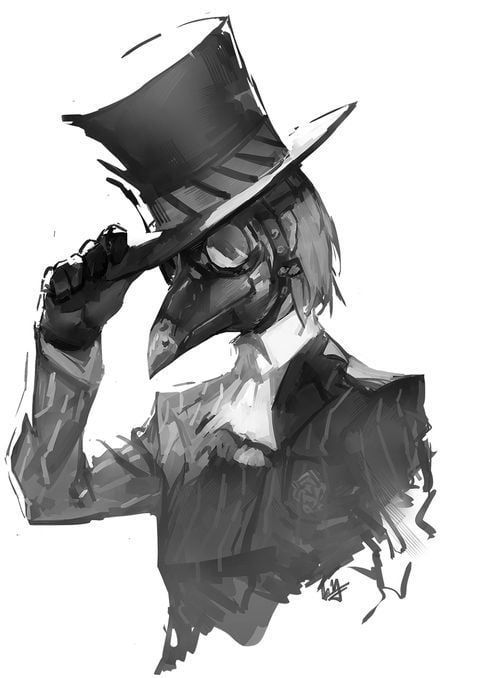 Can I Have More Plague Doctor Pics For Phone Male Or Female In