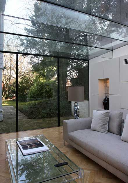 Modern Glass Extensions prospect house structural glass extension - structural glazing