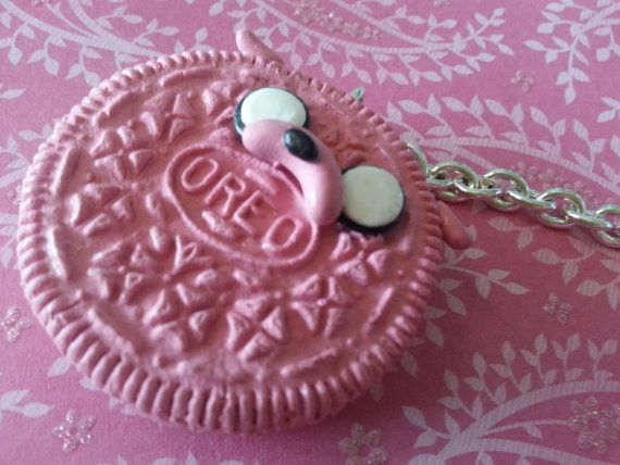 adventure time jake pink oreo key by wintersstitches on etsy
