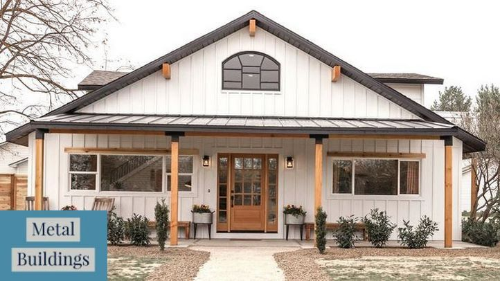 Metal building maintenance is essential | Building Design + Construction and Pole Barn Homes Interior.