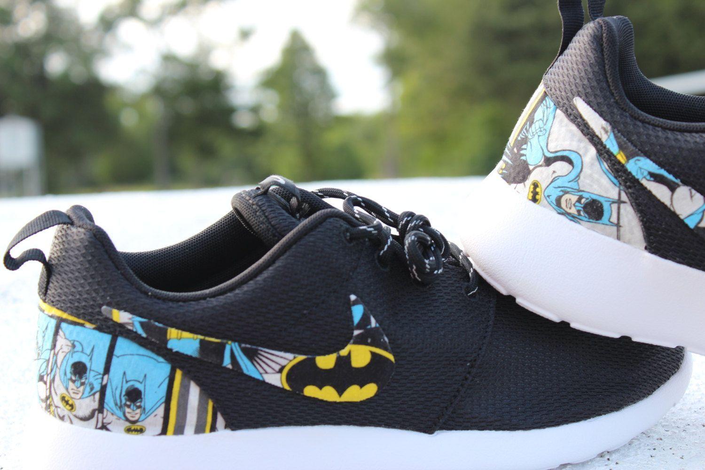Batman Nike Roshe Shoes  7b9c55501