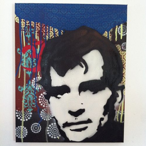 Another #kerouac #stencil finished