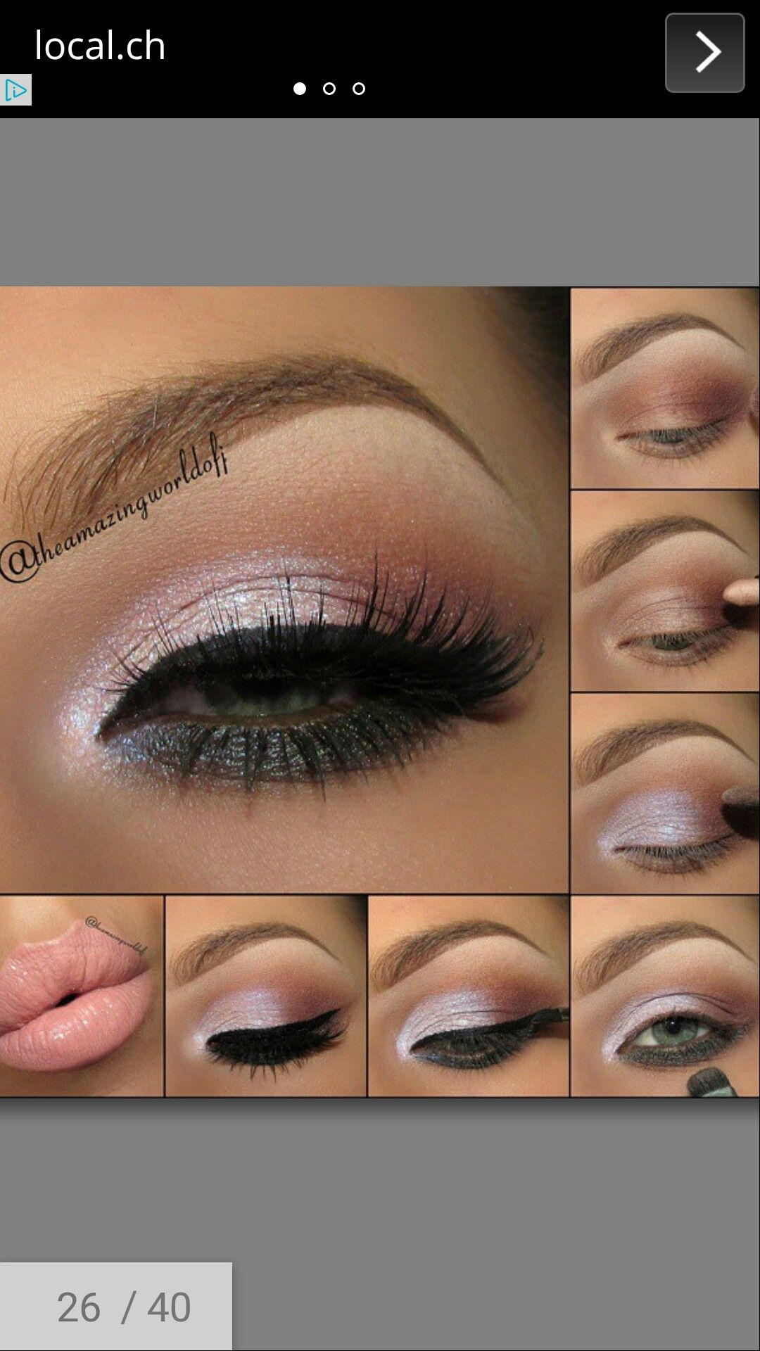 Idea by Becca Costello on makeup products & tips Eye